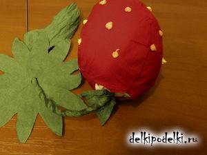 Поделки ягод из бумаги 696