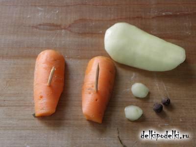 Поделки из овощей. Пингвин из баклажана.